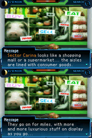 Black Box Data for Sector Carina