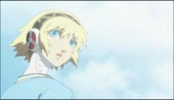 Aigis makes her appearance