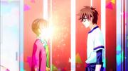 Mitsuki almost blinds Akira