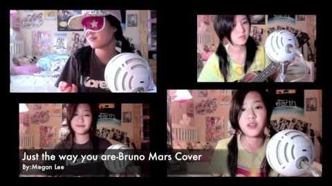 Just the Way You Are - Bruno Mars Acoustic Cover Megan Lee