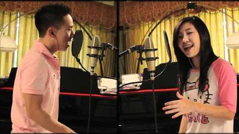 Cover Somebody to love - Justin Bieber by Megan Lee & Jason Chen