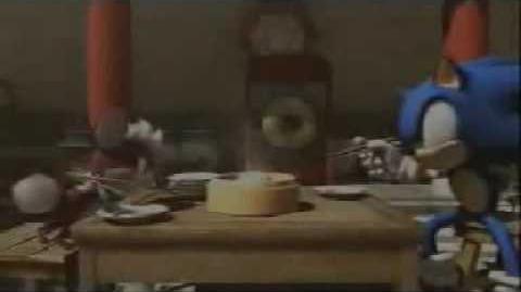 Sonic Unleashed Secret Cutscene Sonic and Chip
