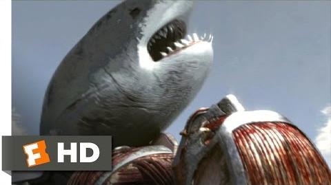 Mega Shark vs. Kolossus (9 10) Movie CLIP - Kolossus Throws Mega Shark into Space (2015) HD