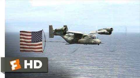 Mega Shark vs. Kolossus (6 10) Movie CLIP - Sidetracking the Savages (2015) HD