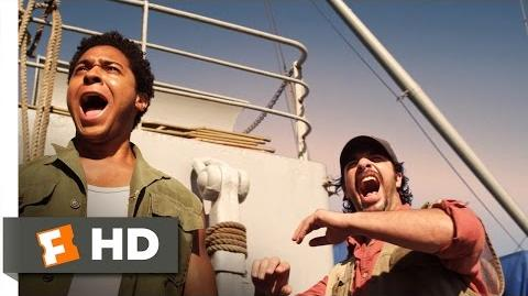 Mega Shark vs. Mecha Shark (1 10) Movie CLIP - Tugboat Toss (2014) HD