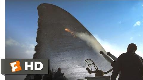 Mega Shark vs. Crocosaurus (1 10) Movie CLIP - Shark Sinks Ship (2010) HD