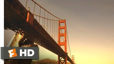 Mega Shark vs. Giant Octopus (7 10) Movie CLIP - Goodbye Golden Gate (2009) HD