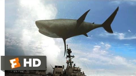 Mega Shark vs. Crocosaurus (6 10) Movie CLIP - Those Dam Beasts (2010) HD