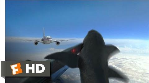 Mega Shark vs. Mecha Shark (3 10) Movie CLIP - Smackdown in the Sky (2014) HD