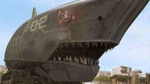 Mega shark mecha shark t