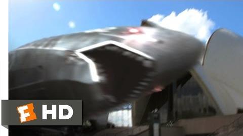 Mega Shark vs. Mecha Shark (6 10) Movie CLIP - A Mech Crashes the Opera (2014) HD