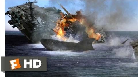 Mega Shark vs. Mecha Shark (4 10) Movie CLIP - One Pissed Off Mega Shark (2014) HD