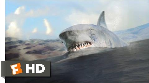 Mega Shark vs. Kolossus (5 10) Movie CLIP - Missiles Sapped, Shark Trapped (2015) HD