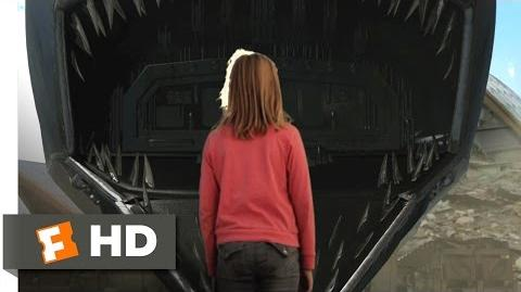 Mega Shark vs. Mecha Shark (7 10) Movie CLIP - Amphibious Mode (2014) HD