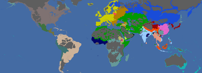 Map religions
