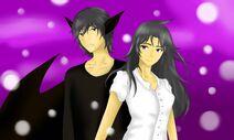 Mekronos y Esmeralda en Edén