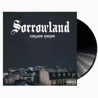 Sorrowland's standard vinyl cover.