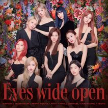 Eyes wide open Digital Cover