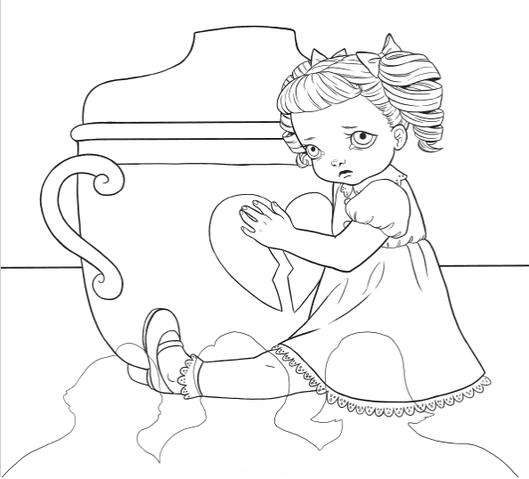 Anime Melanie Martinez Coloring Pages Materi Pelajaran 8