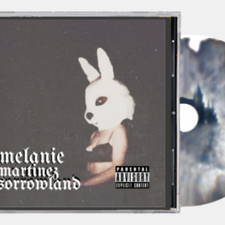 Sorrowland's CD and CD's cover.