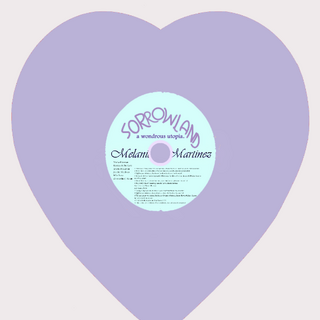 Sorrowland's lilac vinyl (exclusive to Melanie's online store)
