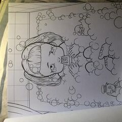 It's just a graphic of Dynamite Crybaby Coloring Book Pages