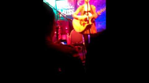 Melanie Martinez - Rough Love with LYRICS (an original) - Live at The Evening Muse 3 30 13
