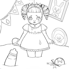 melanie martinez coloring pages