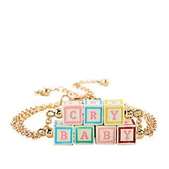 <i>Cry Baby</i> blocks bracelet