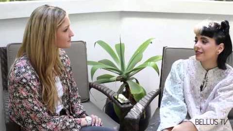 Melanie Martinez Interview with Taylor-Ann Hasselhoff Bellus TV