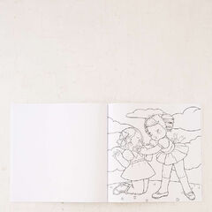 It is a photo of Agile Crybaby Coloring Book Pages
