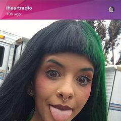 Melanie on iHeartRadio's Snapchat.