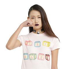 <i>Cry Baby</i> block t-shirt