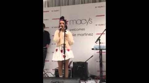 Melanie Martinez at Macy's - Carousel