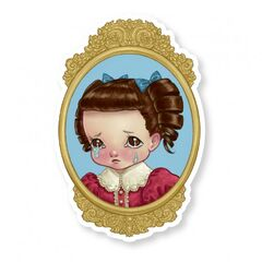 Sad Cry Baby sticker