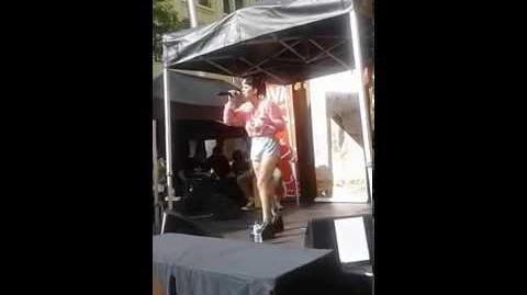 Melanie Martinez performing pity party live
