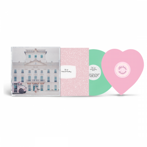 Mint colored K-12 vinyl + Heart Shaped single