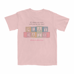 <i>Play Date</i> blocks t-shirt