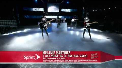 Melanie Martinez - Crazy (The Voice Performance)