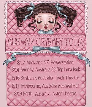 Melanie martinez tour dates in Australia