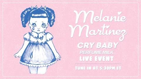 Cry Baby Perfume Milk Live Event