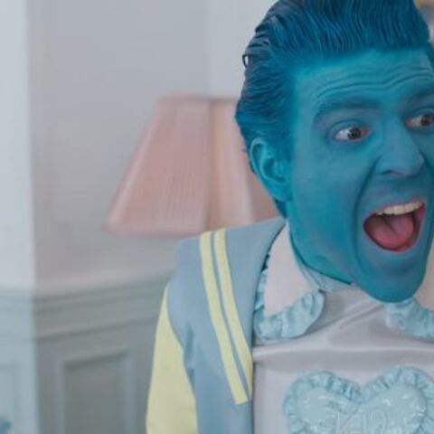 Blue Boy in the official trailer of <i>K-12</i>.