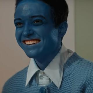 Lucas as Blue Boy