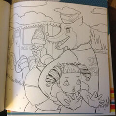 This is a graphic of Transformative Crybaby Coloring Book Pages