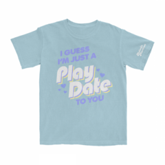 Blue <i>Play Date</i> t-shirt