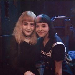 Chloe with Melanie