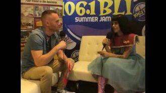 Melanie Martinez interview for 106.1 BLI FM at BLI Summer Jam 2016