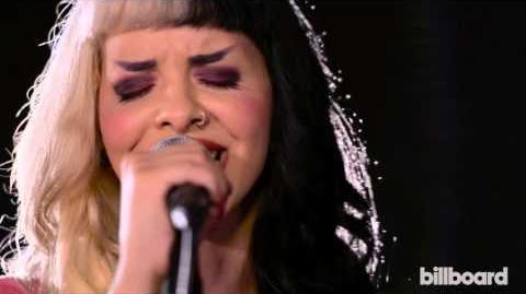 Melanie Martinez Performs 'Pity Party' Live in the Billboard Studio