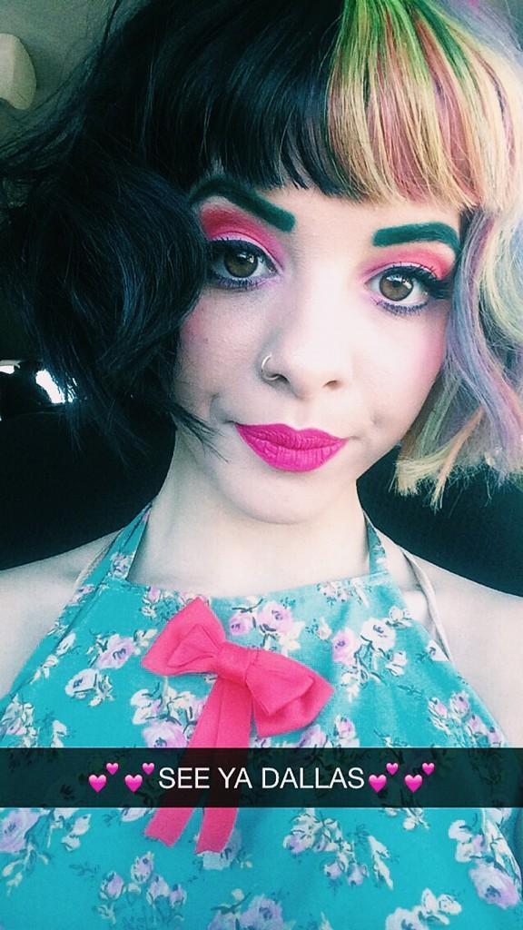 Melanie Martinez Carousel Makeup