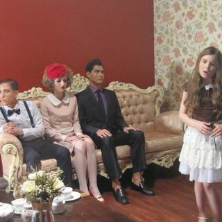 Behind the scenes of <i>Dollhouse</i>.